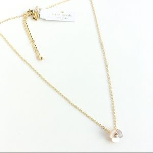 Kate spade mother-of-pearl flower necklace